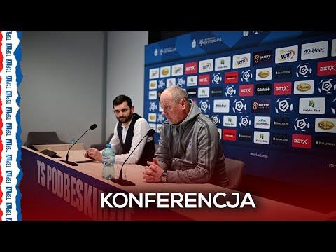 Konferencja prasowa po meczu Podbeskidzie – Pogoń | 16.04.21