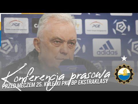 TV Stal: Konferencja prasowa przed meczem 25. kolejki PKO BP Ekstraklasy