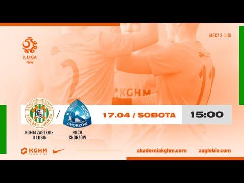 III liga | 26. kolejka | KGHM Zagłębie II Lubin – Ruch Chorzów | TRANSMISJA