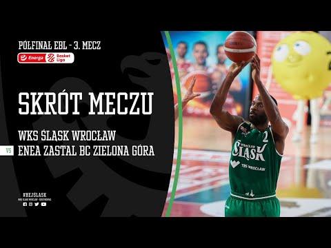 #BAŃKA2 SKRÓT: WKS Śląsk Wrocław – Enea Zastal BC Zielona Góra 75:80