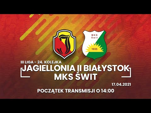 III Liga.Jagiellonia II Białystok – Świt Nowy Dwór Mazowiecki