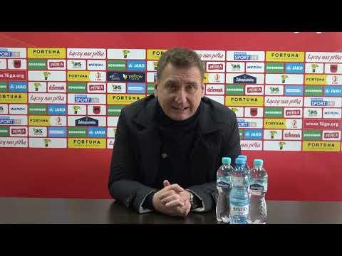 Konferencja prasowa po meczu Górnik – Puszcza (0:0)