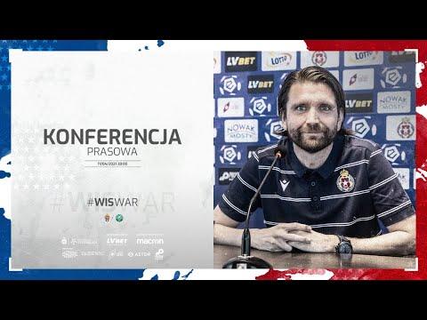 Konferencja prasowa po meczu Wisła Kraków – Warta Poznań