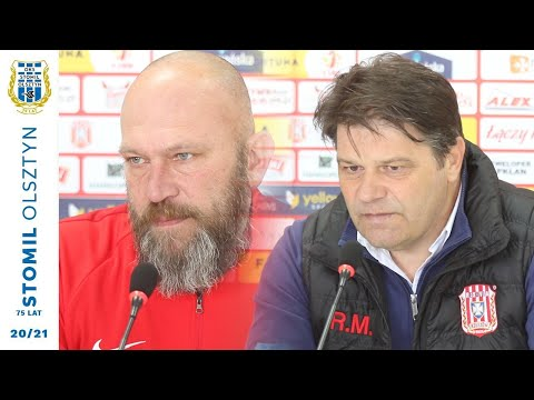 Konferencja po meczu Resovia – Stomil Olsztyn 1:0 (17.04.2021 r.)
