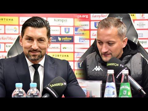2021-04-17 Sandecja – Widzew Łódź 3-1 (2-0), pomeczowa konferencja
