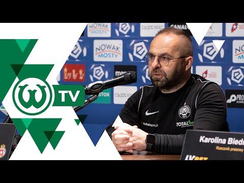 Piotr Tworek po meczu Wisła Kraków – Warta Poznań