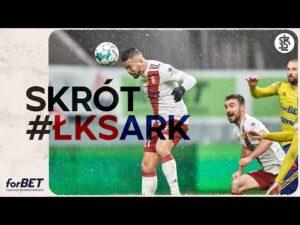 Read more about the article ŁKS Łódź – Arka Gdynia 1:2   SKRÓT MECZU