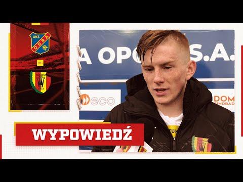 Grzegorz Szymusik po meczu z Odrą Opole