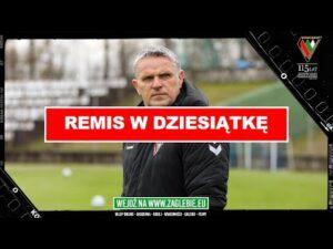 Konferencja po meczu z GKS Bełchatów   Remis w dziesiątke