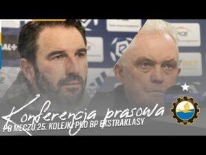 Read more about the article TV Stal: Konferencja prasowa po meczu 25. kolejki PKO BP Ekstraklasy