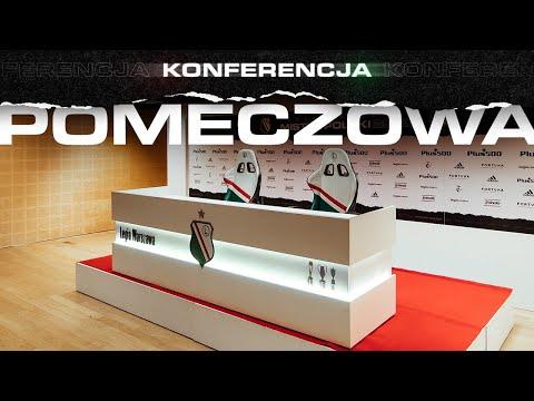 Konferencja po meczu Legia Warszawa – Cracovia