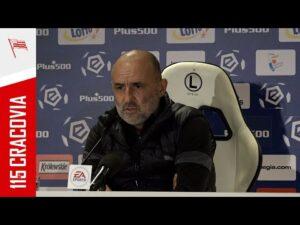 Read more about the article Trener Michał Probierz po meczu z Legią Warszawa (18.04.2021)