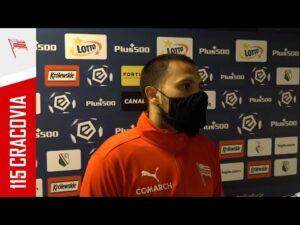 Marcos Alvarez po meczu z Legią Warszawa (18.04.2021) [NAPISY PL]