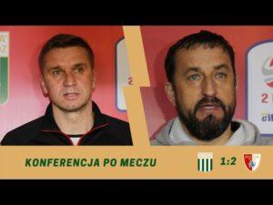 Konferencja po meczu 28. kolejki eWinner 2. Ligi: Olimpia Grudziądz – Pogoń Siedlce.