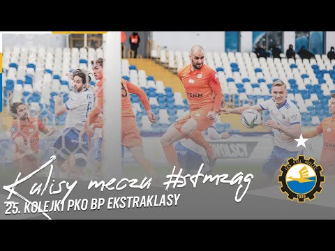 TV Stal: Kulisy meczu #STMZAG 25. kolejki PKO BP Ekstraklasy