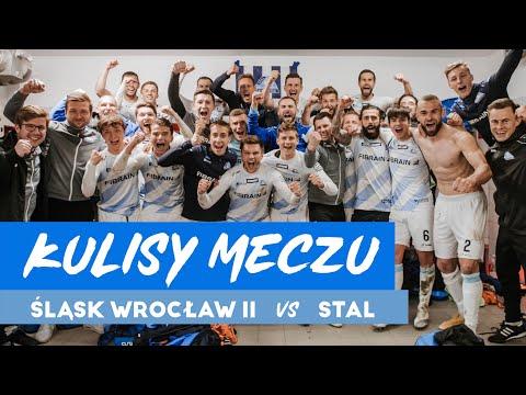 Kulisy z meczu Śląsk Wrocław II – Stal Rzeszów (18.04.2021)