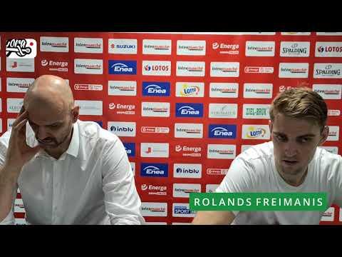 PLAY-OFF | 1/4 | Game 2 | Enea Zastal BC 89:74 PGE Spójnia (konferencja prasowa)