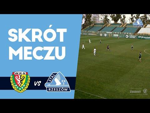 Śląsk Wrocław II – Stal Rzeszów 3-4 (skrót meczu)