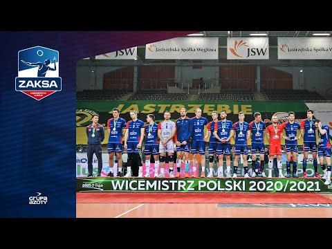 ZAKSA wicemistrzem Polski | Nikola Grbić, Paweł Zatorski