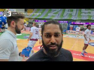 Read more about the article PLAY-OFF | 1/4 | Game 2 | Enea Zastal BC 89:74 PGE Spójnia (skrót meczu)