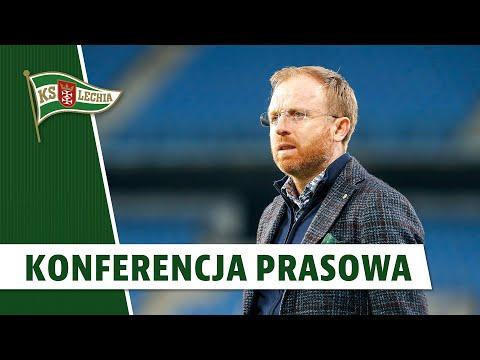 Konferencja prasowa Piotra Stokowca po meczu z Lechem Poznań | #LPOLGD