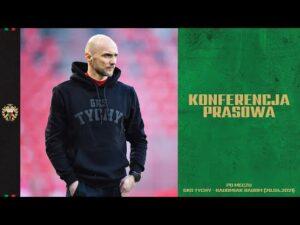 Read more about the article 25. kolejka Fortuna 1 Liga: Konferencja prasowa po meczu GKS Tychy – Radomiak Radom 1:0