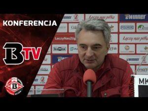 Konferencja prasowa po meczu Bytovia – Garbarnia Kraków (1:2)