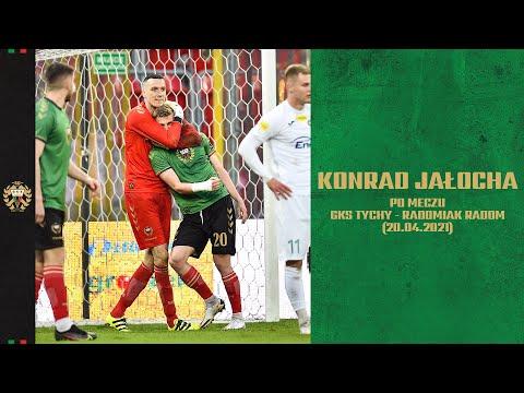25. kolejka Fortuna 1 Liga: Opinia Konrada Jałochy po meczu GKS Tychy – Radomiak Radom 1:0