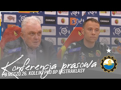 TV Stal: Konferencja prasowa po meczu 26. kolejki PKO BP Ekstraklasy
