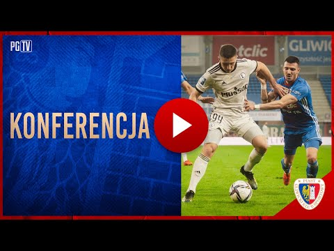 KONFERENCJA | Trenerzy po meczu Piast Gliwice – Legia Warszawa 0-1 (0-0) 21|04|2021