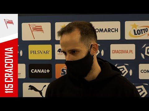 Luís Rocha po meczu z Wisłą Płock (21.04.2021) [NAPISY PL]