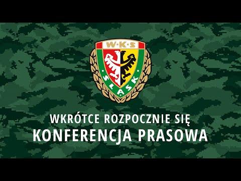 Konferencja prasowa przed meczem Śląsk – Raków