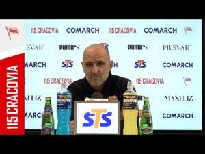 Read more about the article Konferencja Trenera Michała Probierza przed meczem z Wisłą Kraków (22.04.2021)