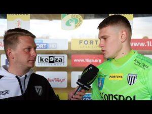 Read more about the article 2021-04-23 GKS Bełchatów – Sandecja 0-2 (0-1), Szymon Tokarz