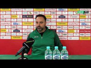 Konferencja prasowa po meczu GKS Bełchatów – Sandecja Nowy Sącz 0:2