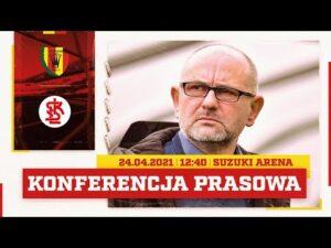Konferencja prasowa po meczu Korona Kielce – ŁKS Łódź