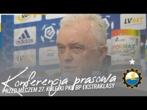 Read more about the article TV Stal: Konferencja prasowa przed meczem 27. kolejki PKO BP Ekstraklasy