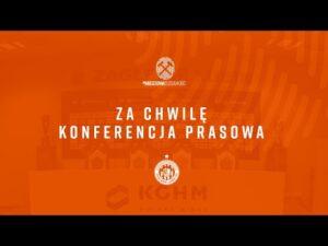 Konferencja prasowa po meczu KGHM Zagłębie Lubin – Piast Gliwice | LIVE