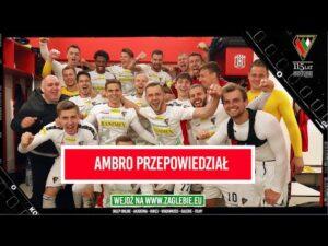 Ambro przepowiedział bramkę | Cieszynka po meczu z Resovią Rzeszów | Szczęśliwa trzynastka!