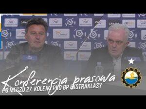TV Stal: Konferencja prasowa po meczu 27. kolejki PKO BP Ekstraklasy