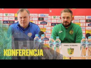 Read more about the article [GKS TV] Konferencja prasowa po meczu z Puszczą