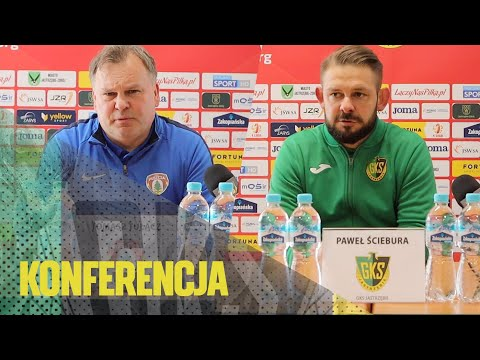 [GKS TV] Konferencja prasowa po meczu z Puszczą