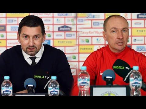 2021-04-03 Stomil Olsztyn – Sandecja 0-5 (0-3), pomeczowa konferencja prasowa