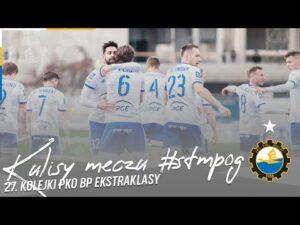 Read more about the article TV Stal: Kulisy meczu #STMPOG 27. kolejki PKO BP Ekstraklasy