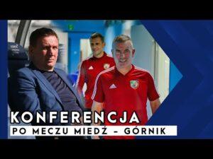 [MIEDZ TV] Wypowiedzi trenerów po meczu Miedzi z Górnikiem Łęczna