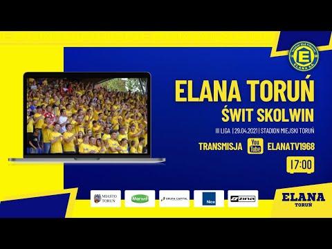 Read more about the article ELANA TORUŃ – ŚWIT SKOLWIN | LIVE | czwartek 29.04.2021 | godzina 17:00