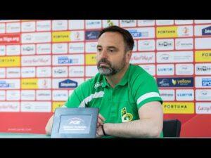 Konferencja prasowa po meczu GKS Bełchatów – Widzew Łódź 2:3