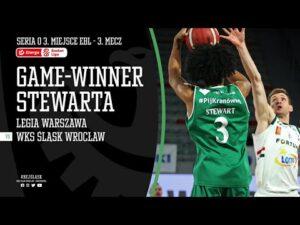 Read more about the article Game-winner Elijaha Stewarta na wagę brązowego medalu EBL