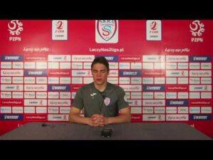 Mikołaj Biegański po meczu z Lechem II Poznań | 28.04.2021