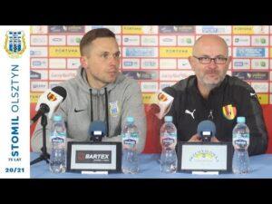 Read more about the article Konferencja po meczu Stomil Olsztyn – Korona Kielce 2:0 (28.04.2021 r.)